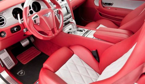 New Bentley Continental GT 2018 with its incredible interior