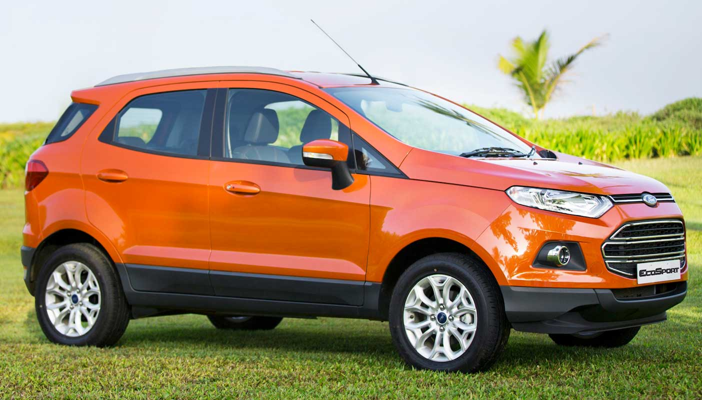 Ford EcoSport suits best for families and vacation