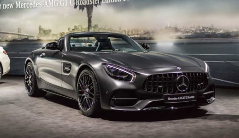 Mercedes-AMG GT C-Roadster – Classy yet innovative