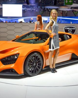 Zenvo ST1 world's first delivery proves incredible performance