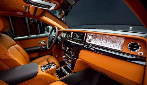 Rolls Royce Phantom 2018 – Interior's first look