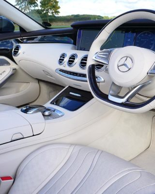 Mercedes announced new car interior system
