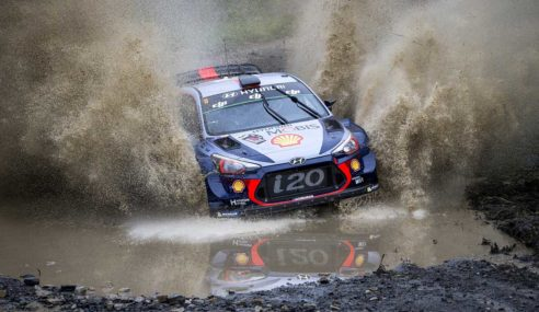 Neuville dominates as rivals falter