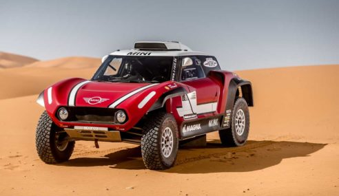 X-raid reveals new buggy Mini for 2018 Dakar Rally
