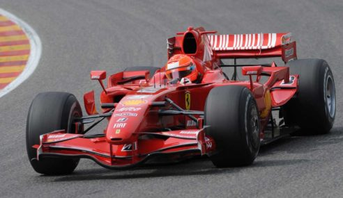Michael Schumacher's F2001 Ferrari sold for $7m