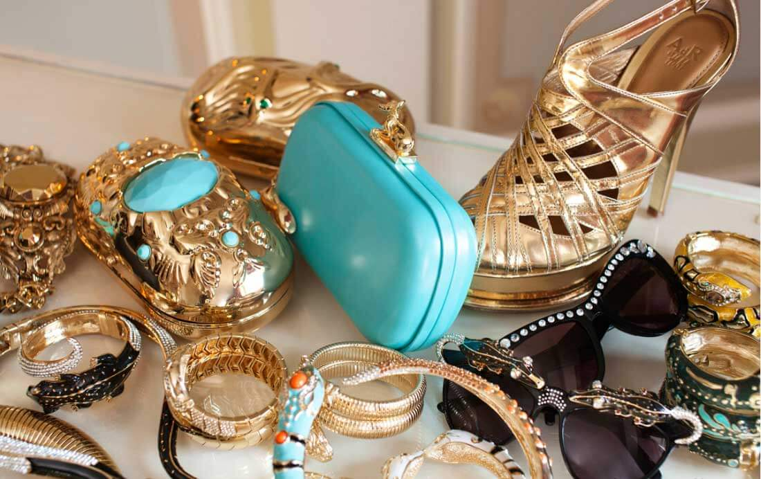 Luxury fashion accessories for ladies