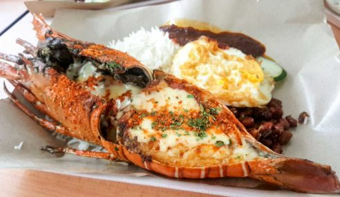 Grilled Lobster with cheese – the perfect couple