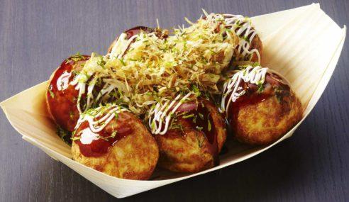 Japanese Streetfood: Beautiful Takoyaki