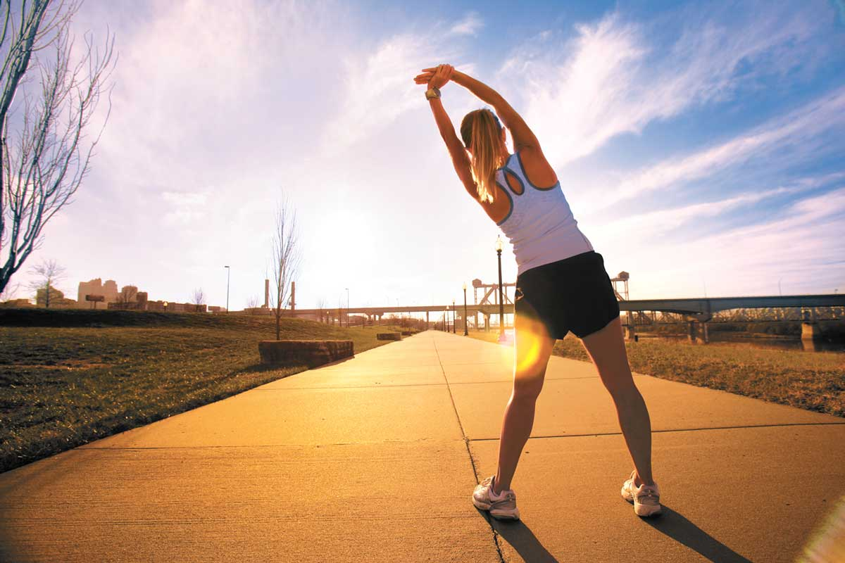 Working out everyday should keep you stay in shape