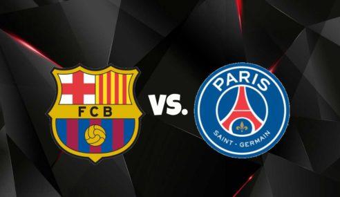 Paris Saint Germain's Neymar misses Messi