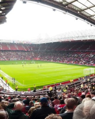 Manchester United crushed Newscastle at the Theatre of Dreams