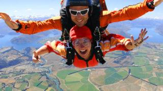 Wakanna Skydiving is so beautiful and incredible