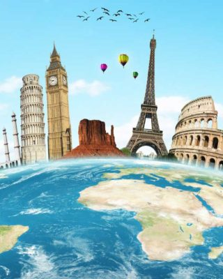 The world is for you to explore, so begin your journey now!