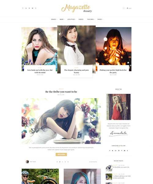 Demo Beauty Blog