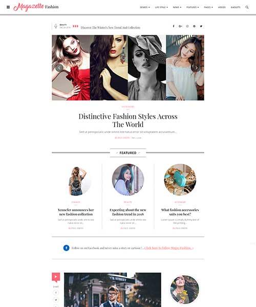 Demo Fashion Blog