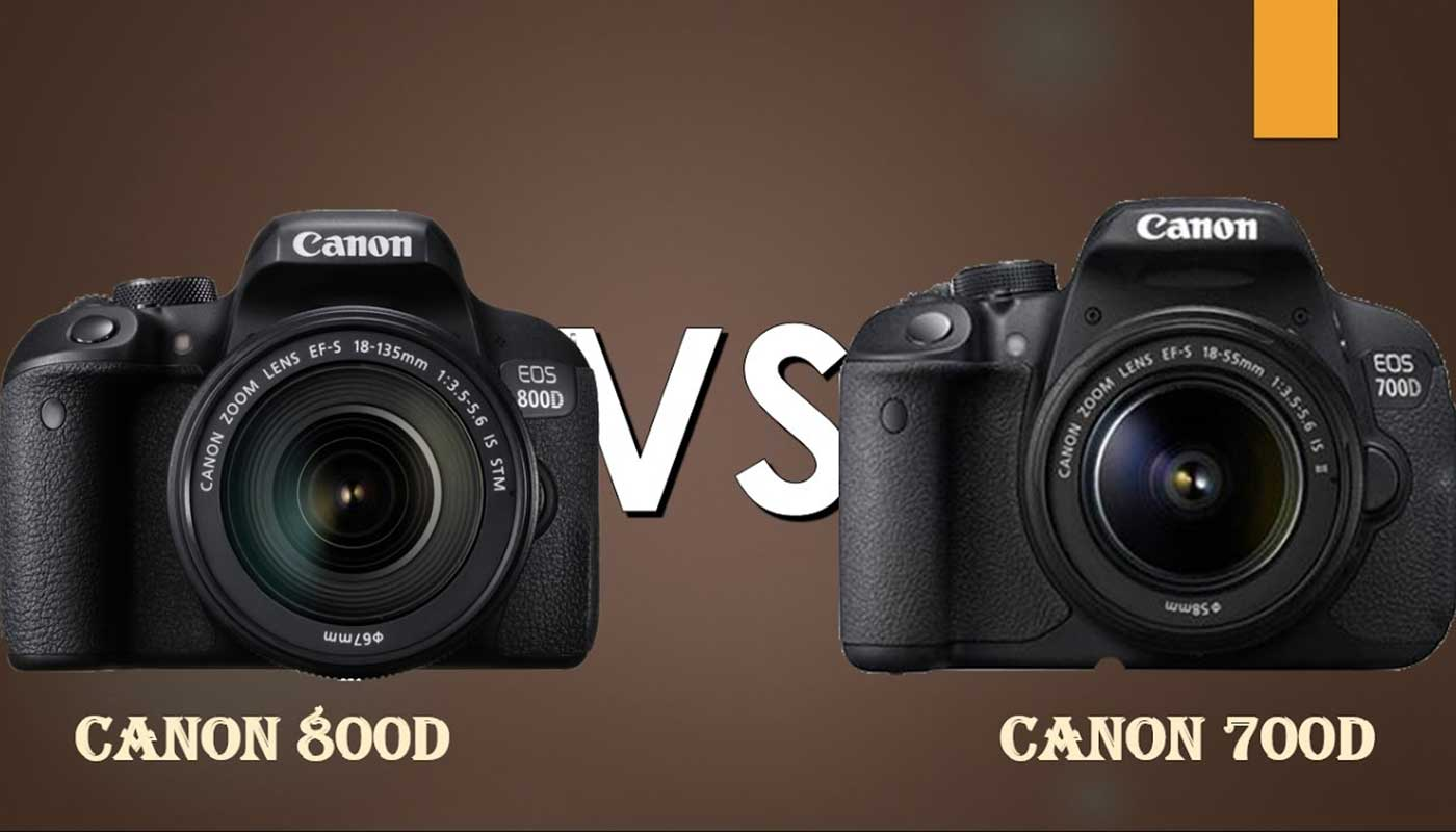 Canon 800D vs Canon 700D – the comparison